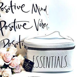NWT RAE DUNN Large Essentials Cosmetic Storage Bag
